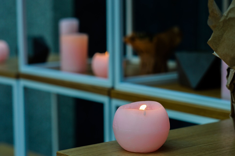 The Pink Candle